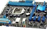 Мат. плата Asus P8H61-M LX на Socket LGA1155, бу