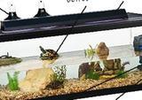 Террариумы для черепах с подсветкой и островком